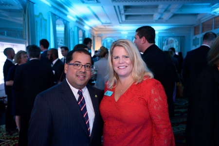 CRES Managing Director with FERC Commissioner Neil Chatterjee
